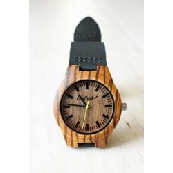Damski drewniany zegarek BUDGERIGAR
