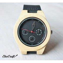 Drewniany zegarek BAMBOO MULTIDIAL