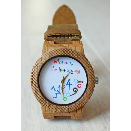 Wooden watch CHAOS EAGLE OWL