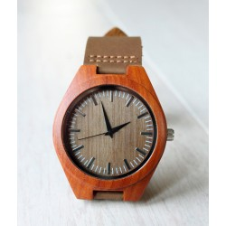 Wooden watch CHAFFINCH