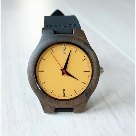 Drewniany zegarek GOLDCREST
