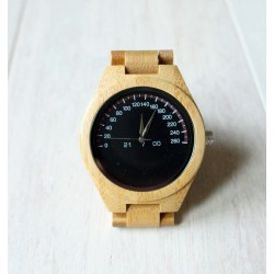 Wooden watch FULL WOOD CAR