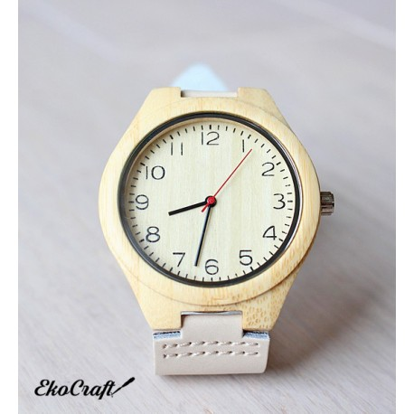 Wooden watch BAMBOO NORDIC STYLE