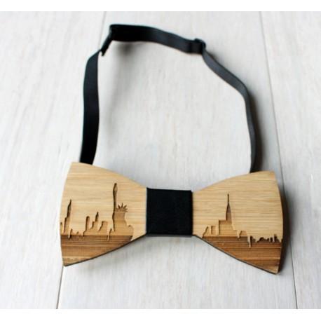 Wooden bowtie PARIS - Urban Style