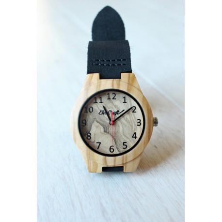 Damski drewniany zegarek PARTRIDGE