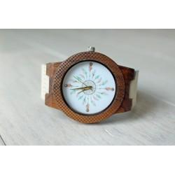 Drewniany zegarek DREAMCATCHER EAGLE