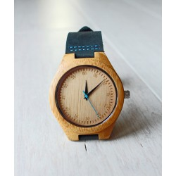 Wooden watch BLUE TIT
