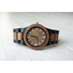 Drewniany zegarek CROW