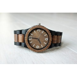 Wooden watch CROW