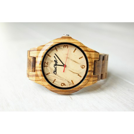 Drewniany zegarek NIGHTINGALE