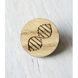 Wooden pin DNA