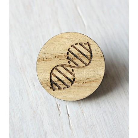 Drewniana wpinka DNA