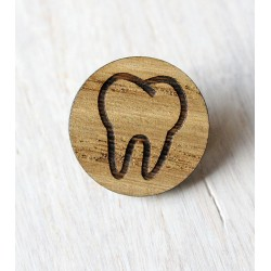 Wooden pin TOOTH
