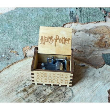 Drewniana pozytywka Harry Potter