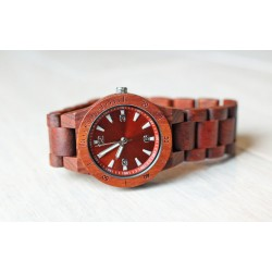 Damski drewniany zegarek seria MINI WOOD