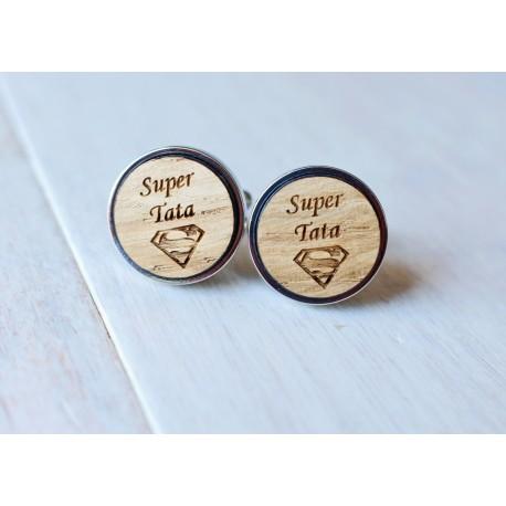 Spinki do mankietów SUPER TATA - Superman
