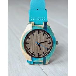 Drewniany zegarek RESIN No.5 - limitowany