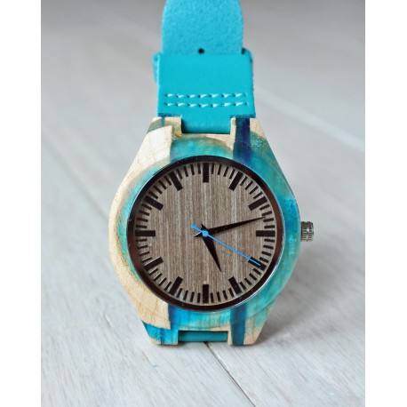 Wooden watch RESIN No.5 - limited