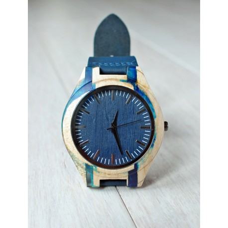 Wooden watch RESIN No.4 - limited