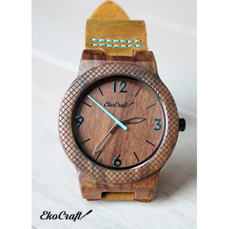 Drewniany zegarek WALNUT WINTER COLLECTION 2016