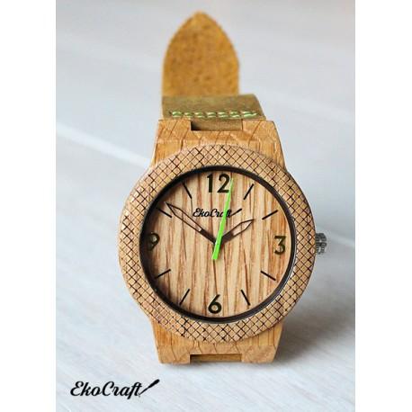 Drewniany zegarek OAK WINTER COLLECTION 2016