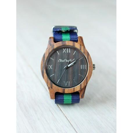 Drewniany zegarek VINTAGE WALNUT