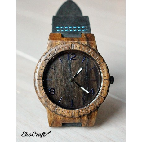 Wooden watch EBONY WINTER COLLECTION 2016