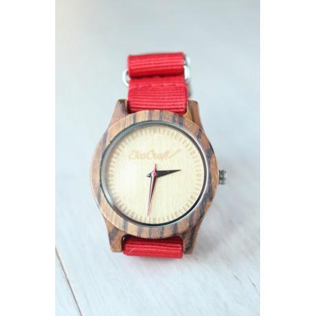Drewniany zegarek REDHEAD
