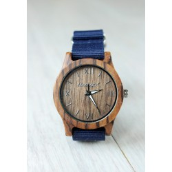Drewniany zegarek DUNLIN