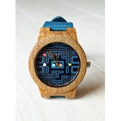 Wooden watch PACMAN HAWK