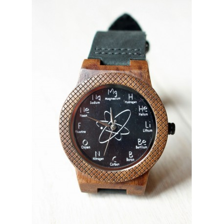 Wooden watch CHEMISTRY EAGLE