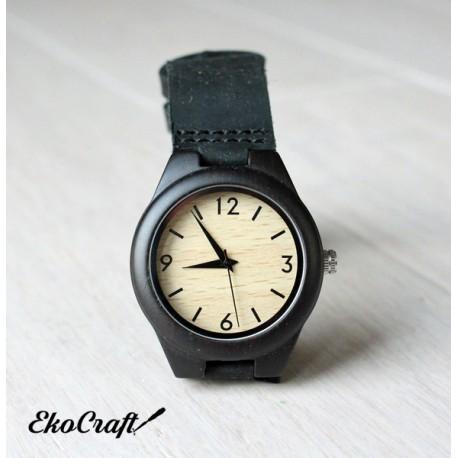 Drewniany zegarek EBONY CLASSIC woman
