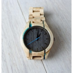 UNIQUE Wooden watch with resin