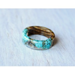 Wood and resin ring SEDIMENT