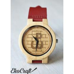 Drewniany zegarek POLSKA WALCZĄCA CLASSIC