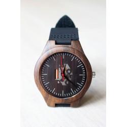 Drewniany zegarek EBONY SKELETON