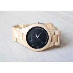 Drewniany zegarek na  bransolecie PURE