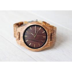 Drewniany zegarek na bransolecie CLASSIC WOOD