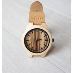 Drewniany zegarek MAPLE STRIPS