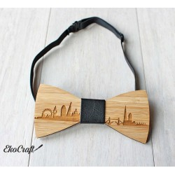 Wooden bowtie LONDON - Urban Style