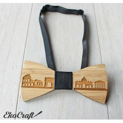 Wooden bowtie ROME - Urban Style