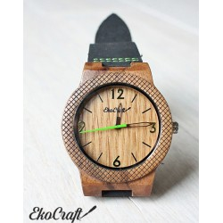 Wooden watch OAK EAGLE
