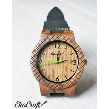 Wooden watch OAK EAGLE