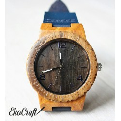 Wooden watch EBONY FALCON