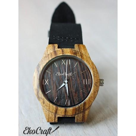 Damski drewniany zegarek SWALLOW