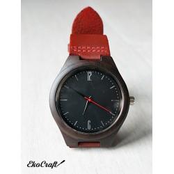 Drewniany zegarek EBONY CLASSIC