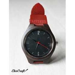 Wooden watch EBONY CLASSIC