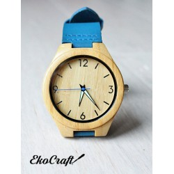 Wooden watch BAMBOO BLUE