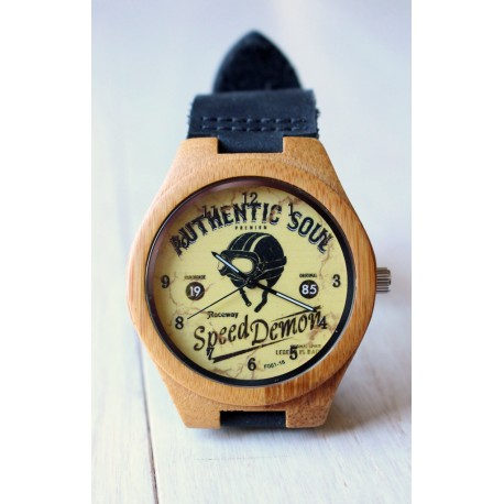 Drewniany zegarek SPEED DEMON