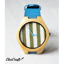 Wooden watch BAMBOO STRAPS